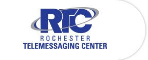 Rochester Telemessaging Center Logo